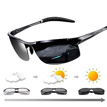 YLYZJH Gafas de Sol fotocromáticas Gafas de Sol polarizadas ...