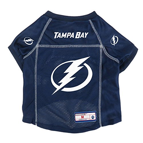 (NHL Tampa Bay Lightning Pet Jersey, XL)