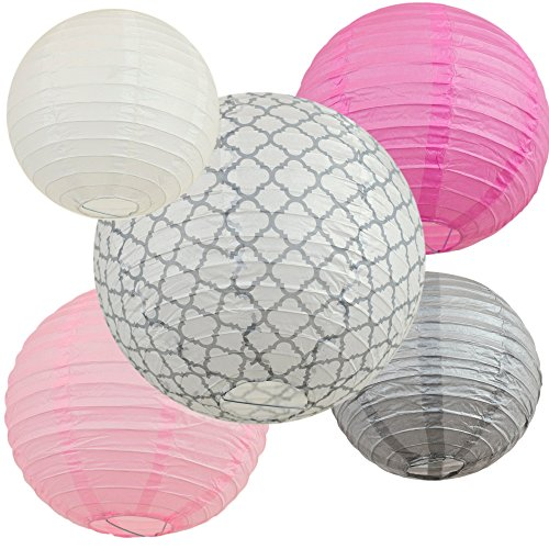 Paper Lanterns Shower Birthday Decoration