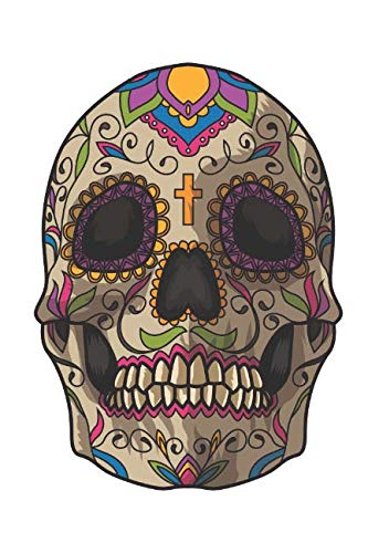 Sugar Skull Decoration: Blank Lined Journal for Day Of The Dead Lovers]()