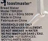 NEW Kneading Paddle Fits TOASTMASTER MODEL # TBR20H