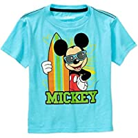 Mickey Mouse Surfer T-Shirt Blue