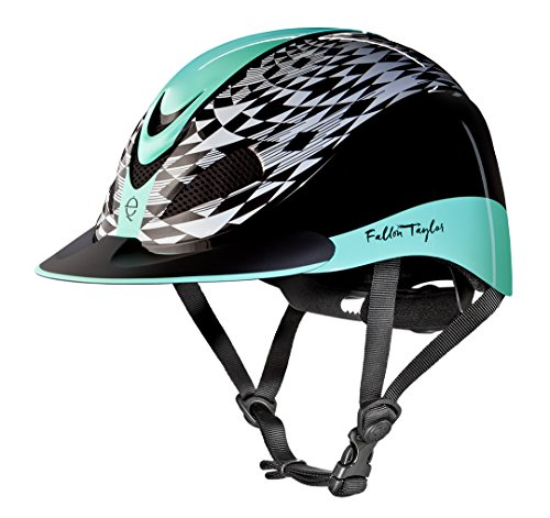 Troxel Fallon Taylor Performance Helmet, Mint Aztec, Medium