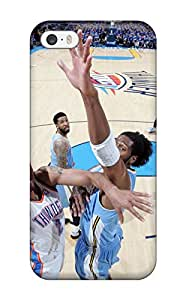 Snap-on Oklahoma City Thunder Basketball Nba Case Cover Skin Compatible With Iphone 5/5s