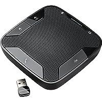 Plantronics Calisto 620 Bluetooth Speakerphone - Retail Packaging - Black (Certified Refurbished)