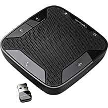Plantronics Calisto 620 Bluetooth Speakerphone - Retail Packaging - Black (Renewed)