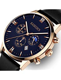 Men's Watches Luxury Sports Casual Quartz Analog...