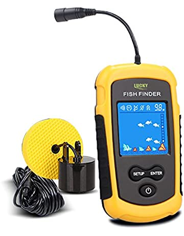 fish finder hook up