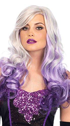 Leg Avenue Women's Costume, Grey/Purple One Size