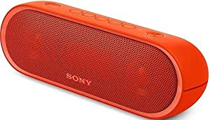 Sony SRS-XB20/RED Extra Bass Wireless Portable Speaker - Bluetooth - Red (Certified Refurbished)