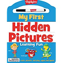 My First Hidden Pictures® Learning Fun: Learn, practice, and play again and again!