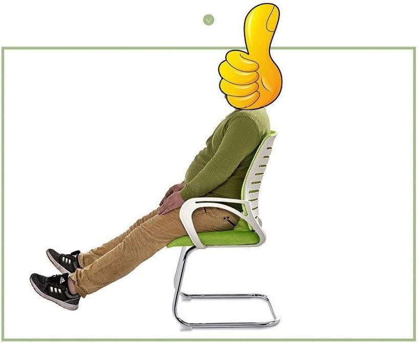 sillas for invitados de oficina for la ergonom/ía de la conferencia MUMUMI C/ómodo coj/ín de esponja con sillas de escritorio con reposabrazos una malla de alta densidad transpirable sala de estar sill