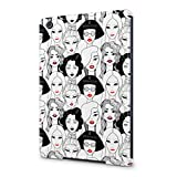 Cute Stylish Model Women Pattern Apple iPad Mini 1 Plastic Tablet Protective Case Cover