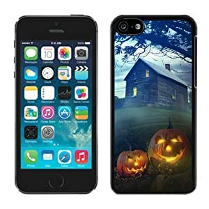 Popular Design Iphone 5C TPU Rubber Protective Skin Halloween Black iPhone 5C Case 6