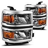 Best Assemblies With Equips - AUTOSAVER88 For 14 15 Chevy Silverado Headlight Assembly,OE Review