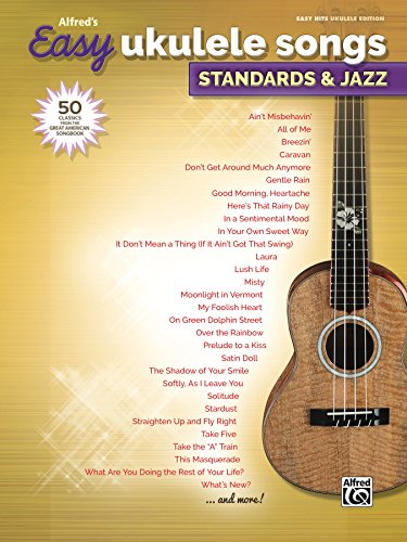 Amazon Alfreds Easy Ukulele Songs Standards Jazz 50 Easy