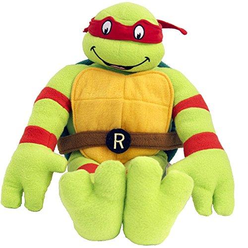 Nickelodeon TMNT Retro Raphael Cuddle Pillow Buddy