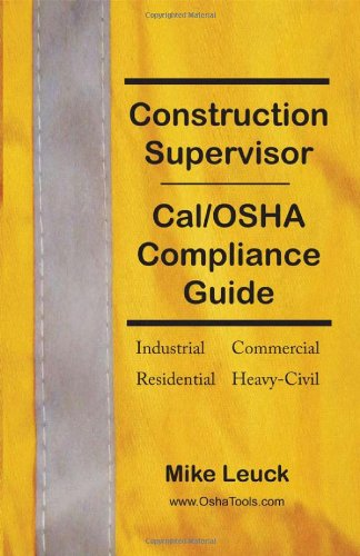 Construction Supervisor Cal/OSHA Compliance Guide pdf