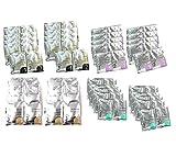 Avry Jelly Spa Pedicure Foot Bath - Jelly Pedi Combo Pack (10GreenTea, 10Lavender, 10Rose, 10Milk&Honey) 40 total!!