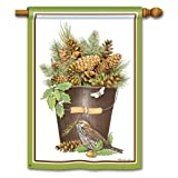 Pinecones Banner Flag Review