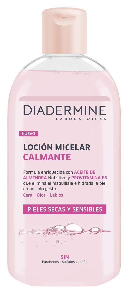 Diadermine - Loción Micelar Calmante para Pieles Secas/Sensibles - 2 unidades de 400ml
