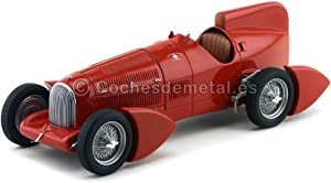 Alfa Romeo Tipo B P3 Aerodinamica, red, 1934, Model Car, Ready-made, BoS-Models 1:18