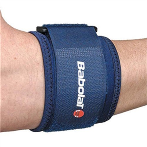 Babolat Unisex's Tennis Elbow Support Protections, Blue/Blue, One Size