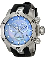 Invicta Mens 6118 Reserve Collection Chronograph Black Rubber Watch