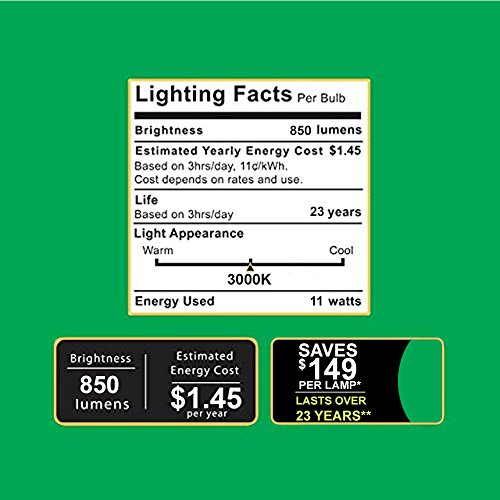 Sunco Lighting 14 Pack BR30 LED Bulb, 11W=65W, 3000K Warm White, 850 LM, E26 Base, Dimmable, Indoor Flood Light for Cans - UL & Energy Star