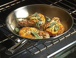 Emeril Lagasse 62953 Stainless Steel Fry Pan, 12\