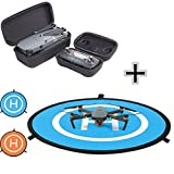 For DJI Mavic Pro Drone Portable Travel Case Box Suits + Mini 750mm Fast-fold landing Pad