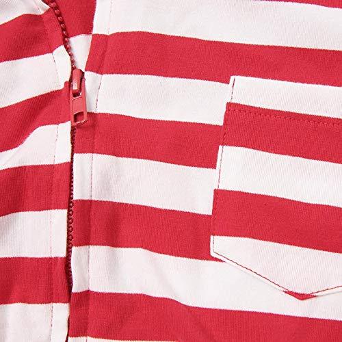 Abbigliamento le a in Sleepwear Famiglia Pajamas per Maniche Cappuccio Natale Lunghe zhbotaolang Con Bambini Vacanze dx7THndB