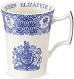 Spode Blue Room Diamond Jubilee Queen Elizabeth II Mug