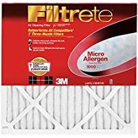 3M 9711DC-6 Micro Allergen Reduction Filters - 6 Pack - 18L x 18W x 1H in.