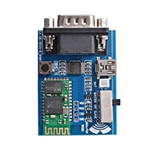 RS232 Bluetooth Serial Port Profiles (SPP) Adapter Communication Module Board with 5V Mini USB Interface TE607