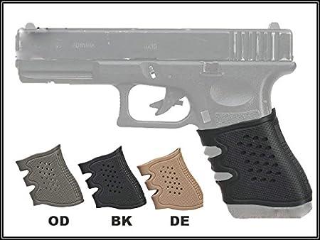 universal pistola caucho empuñadura guante para GLOCK (Negro) Military Outdoor