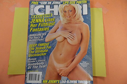 Poster Jenna Jameson (Cheri Men's Magazine Jenna Jameson/Ron Jeremy w/Poster August 1998)
