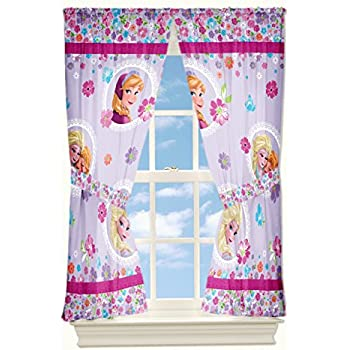 Amazon Com Disney Frozen Breeze Into Spring Window Panels