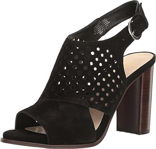 Nine West Women's Perriman Suede Dress Sandal