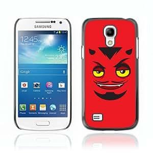 Designer Depo Hard Protection Case for Samsung Galaxy S4 Mini / Devils Face