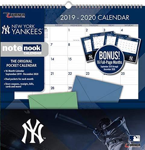 Yankees Calendar 2020 New York Yankees 2020 Calendar: Inc. Lang Companies: 9781469371122