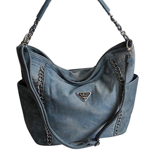 Al Jennifer Mujer Präsentiert Para Azul Bolso Claro Hombro Von Zmoka® Jones xHXwrHqP