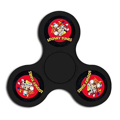 Price comparison product image Looney Tunes Fidget Spinner Official Anti-Anxiety 360 Spinner Helps Focusing - Fidget Toys [3D Figit] For Kids Stress Reduce Adhd Anxiety Steel Bearing