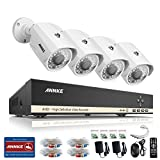 ANNKE 8CH HD-AHD 1080N Security DVR and (4) 1.0 Mega-Pixels 1280TVL Outdoor CCTV Cameras, P2P Technology, Motion Detection & Alarm Push