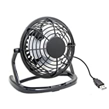 IO Crest Mini USB Powered Desktop Cooling Fan SY-ACC65055