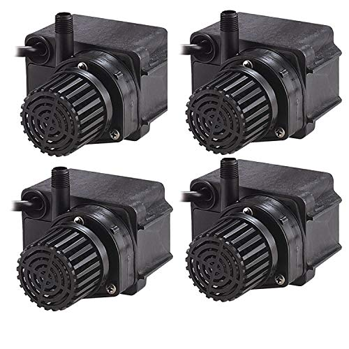 Little Giant 170 GPH 36W Energy Efficient Direct Drive Submersible Pond Pump (4 Pack)