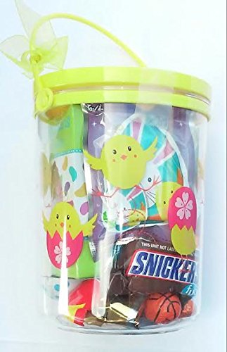 Easter Candy Bucket- Filled With Treats
