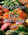 Nutrition Diet Therapy by Delmar Cengage Learning