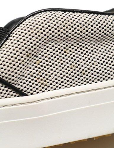 4023c8b75061 Amazon | [セリーヌ] スリッポン スニーカー キャンバス 白 黒 313652 中古 | ローファー・スリッポン