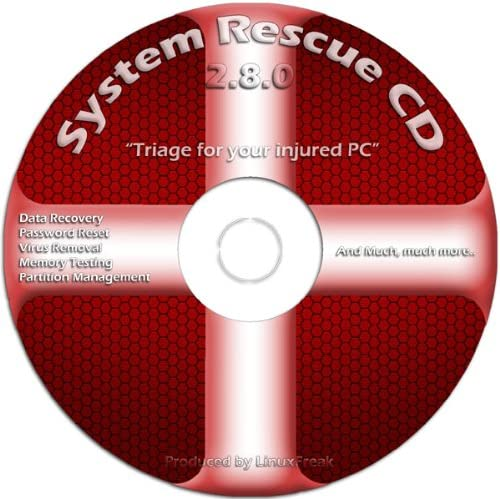 Amazon Com System Rescue Cd Triage For Your Broken Pc Repair